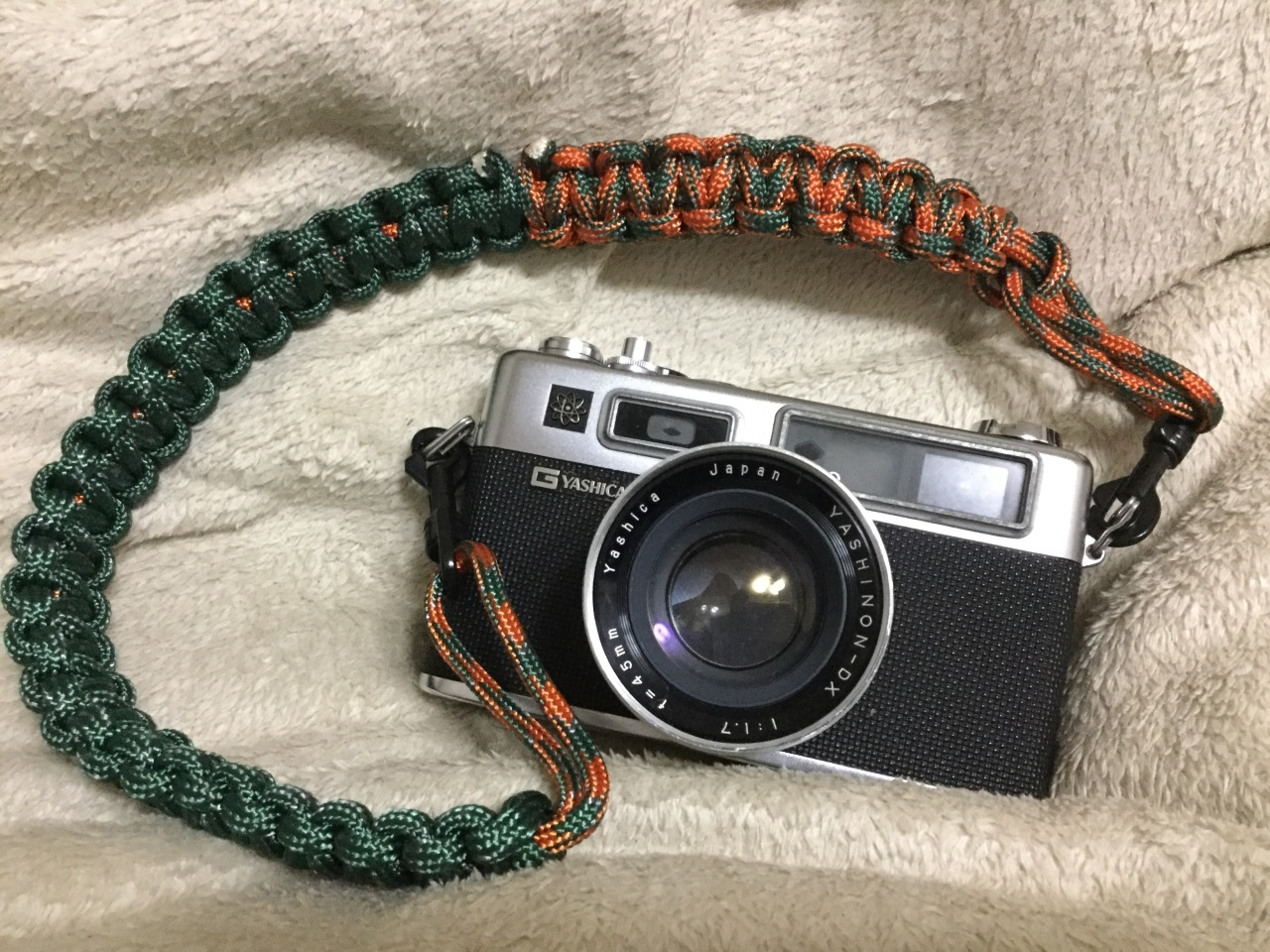 I made a Camera Strap:-)
