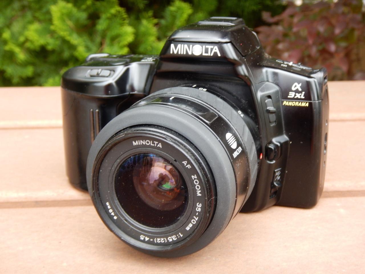 Minolta alpha 3xiPanorama