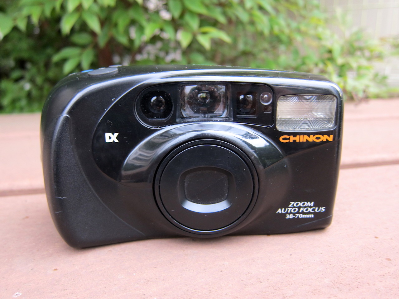 Chinon ZC 200 (sprocket adapted)