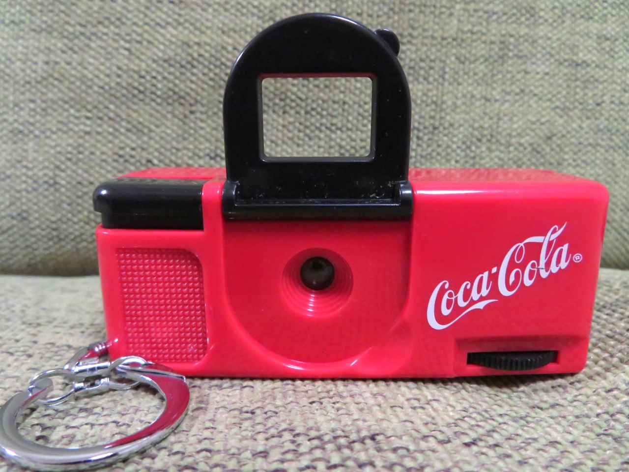 Coca-Cola Keychain Camera