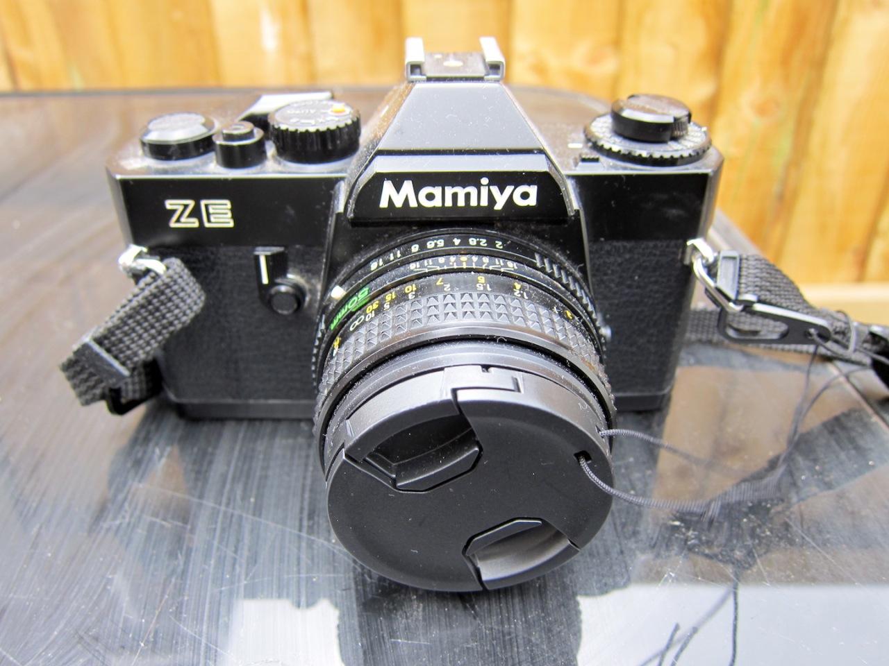 Mamiya ZE