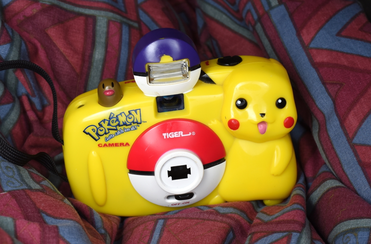 Pokemon 35mm Camera