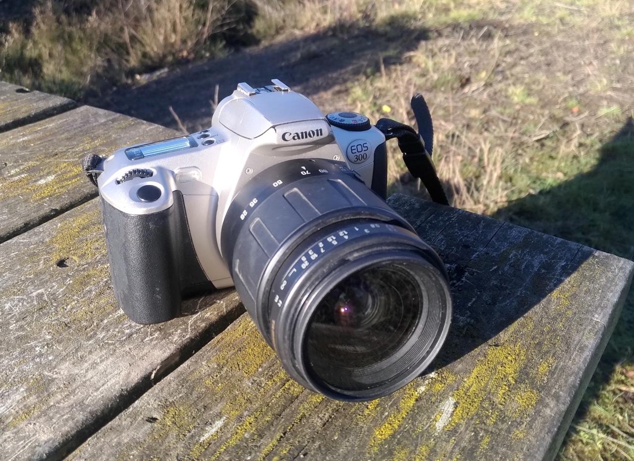 Canon EOS 300 (EOS Rebel 2000, EOS KissIII)