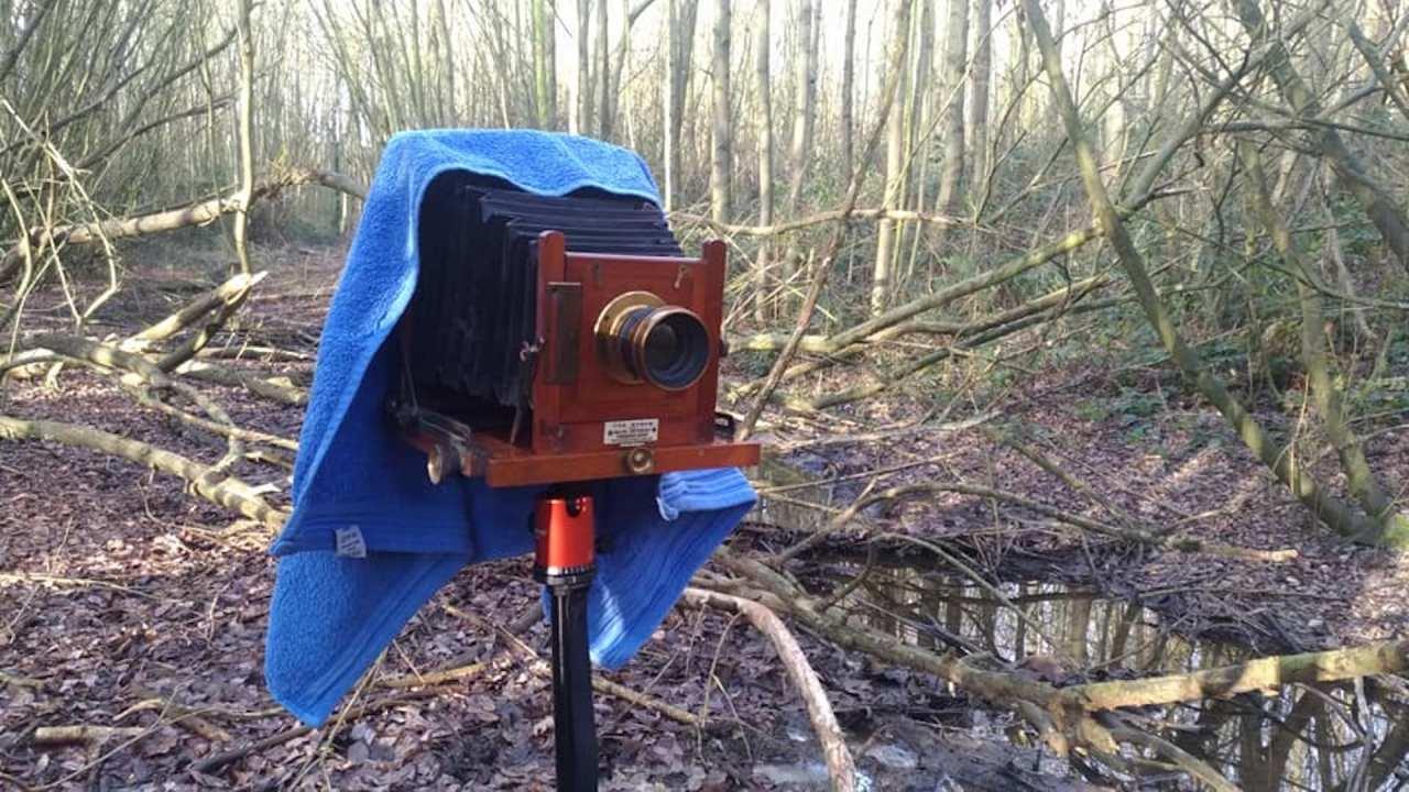Large Format Camera Pre-1906 (4×5sheet)
