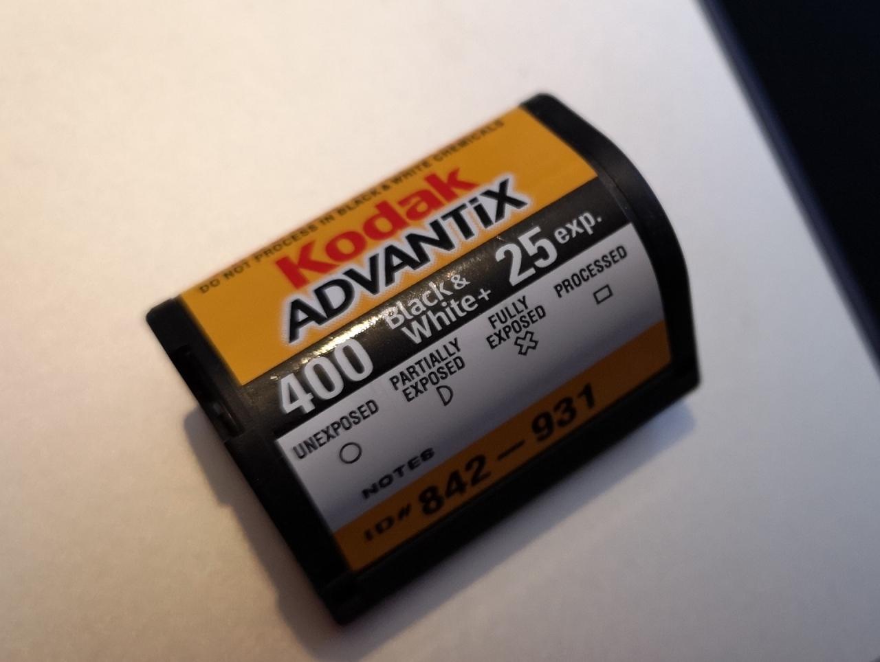 APS Kodak Advantix Black andWhite