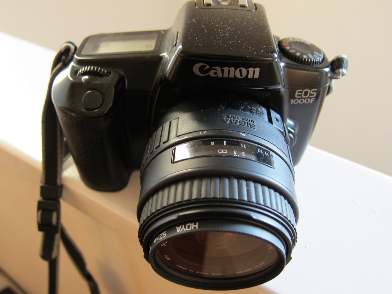 Return to Canon EOS 1000, but with an F