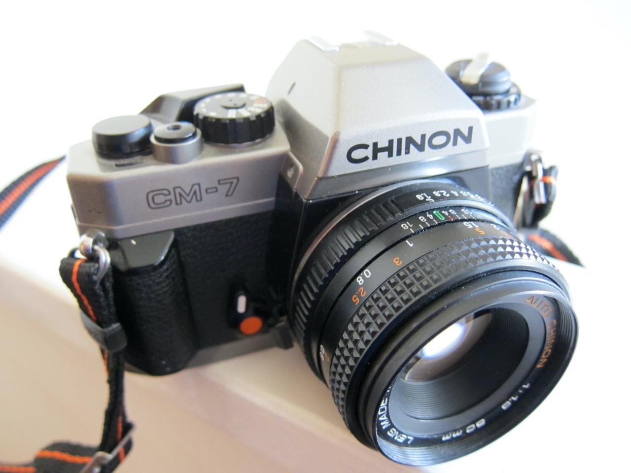 Chinon CM-7 (versus NikonFM10)