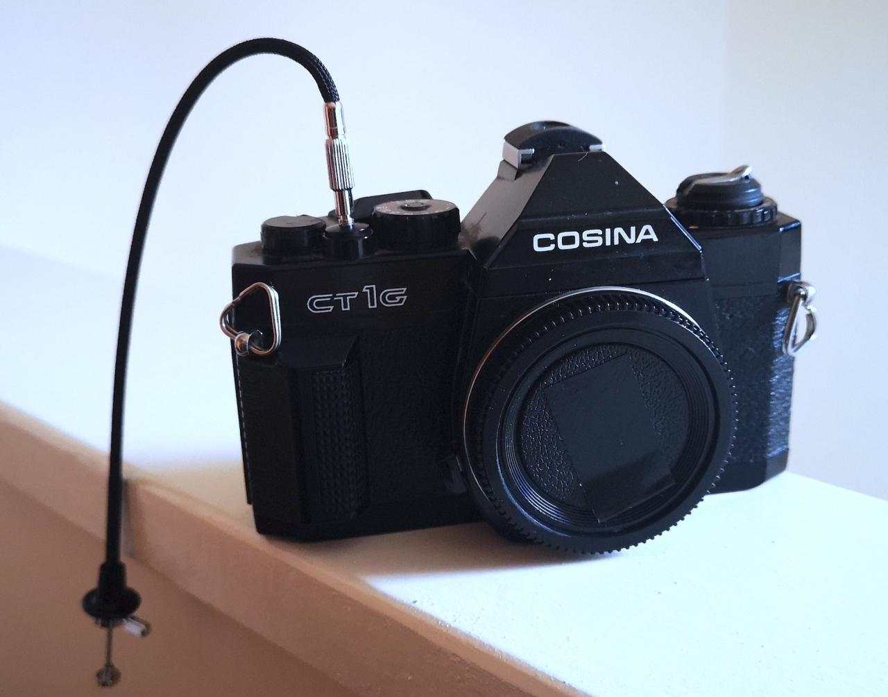 Cosina CT1G (with pinhole lenscap)