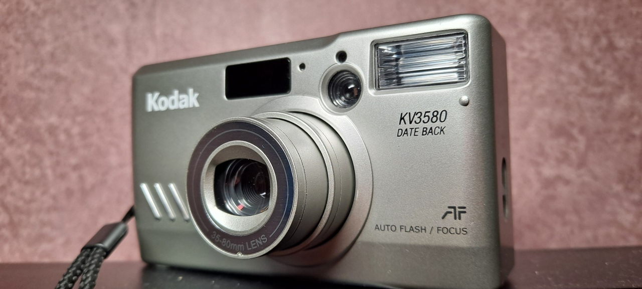 Kodak KV3580 DATE BACK (Chinon M-6200) and One Photo aDay